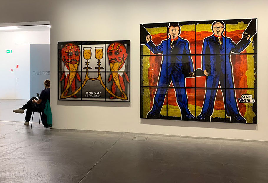 20 Best Gilbert and George - The Naked Shit Pictures (1994